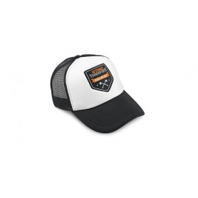 "STIHL Trucker Cap ""Kiss my Axe""Ασπρόμαυρο"